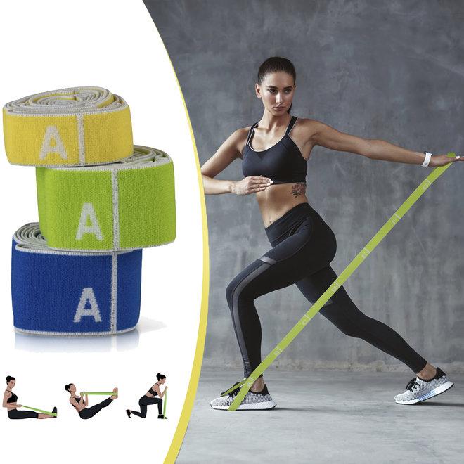 Elastische fitness banden