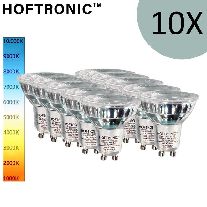 10 x GU10 LED lampen