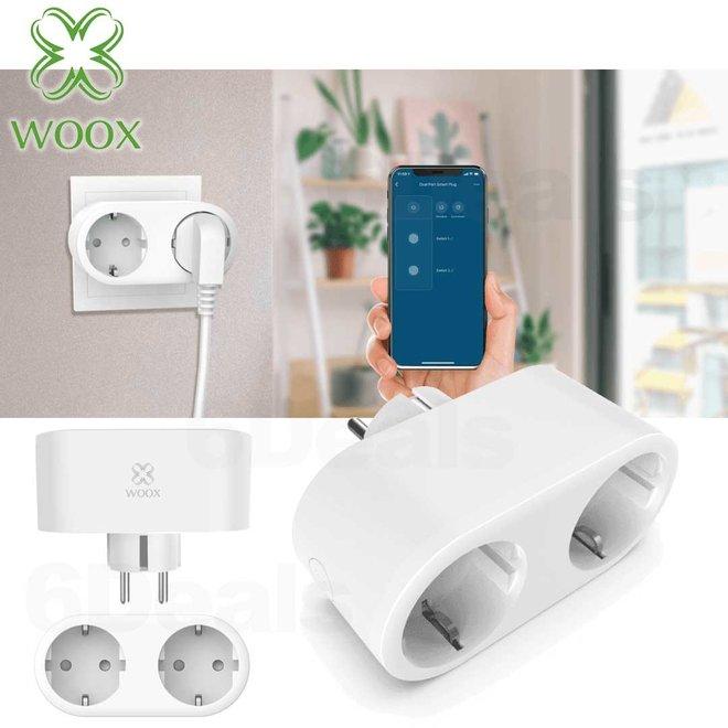 WOOX Slimme stekker - dubbel
