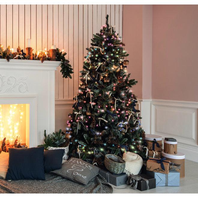 Kerstboom lichten met app - 160 LED | Gehele RGB bereik