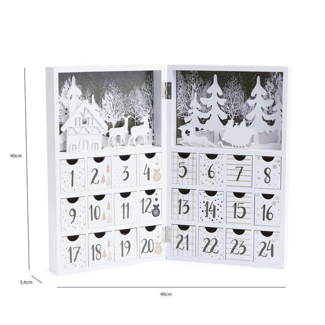 Houten Adventskalender
