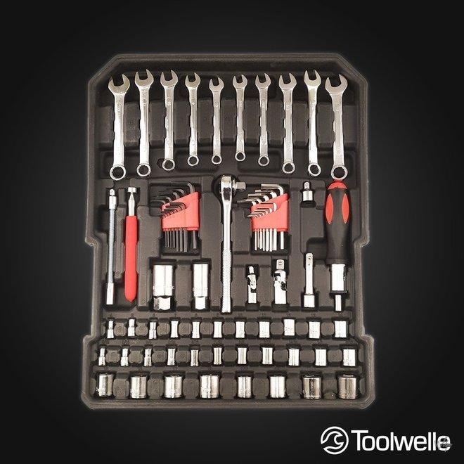 Toolwelle Gereedschapstrolley -- 399- of 599-delig!