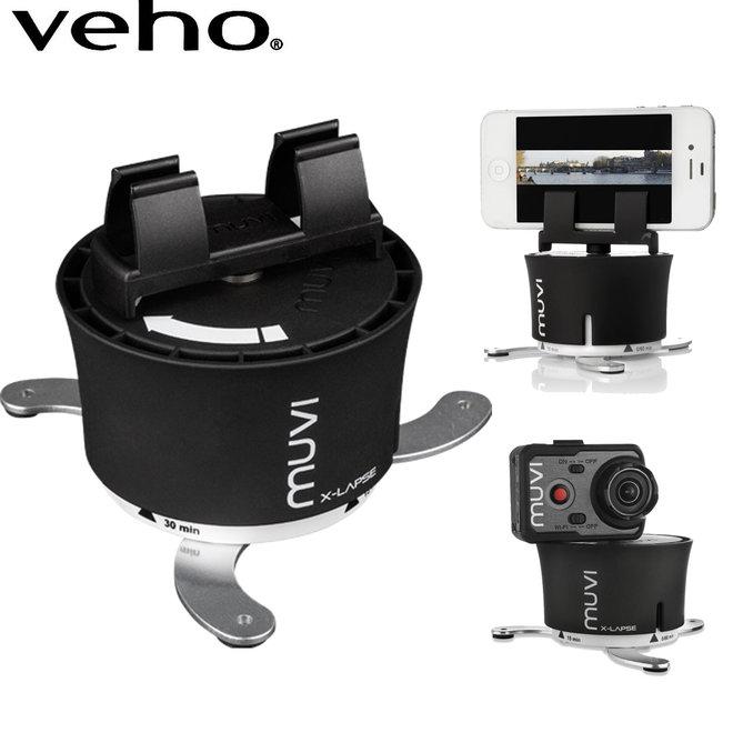 Veho 360° en panorama accessoire - Maak 360° films en panorama foto's met GoPro of Smartphone!