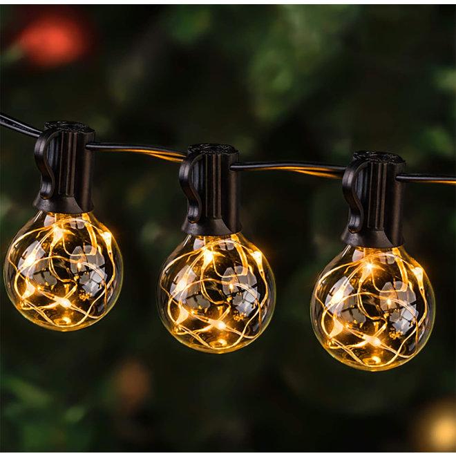 Smart LED Lichtslinger - Kleur instelbaar  - 18 Meter Lang Met 20 Led Lampen!