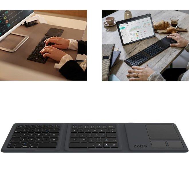 Opvouwbaar Toetsenbord - Voor Smartphone   Tablet   Laptop   1 + 1 GRATIS