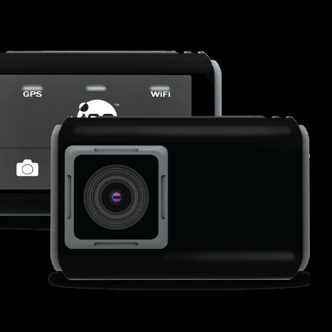 iON Dashcam - Super HD | Wide angle | GPS | WiFi | Legt verkeersincidenten vast