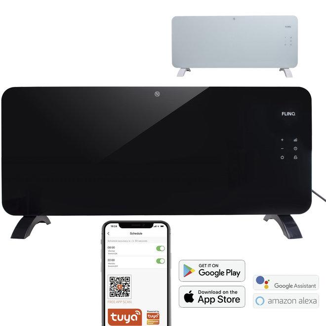 Smart Paneelverwarmer -- Bedienen met Smartphone | Strak Design | Verwarmt tot 60m3