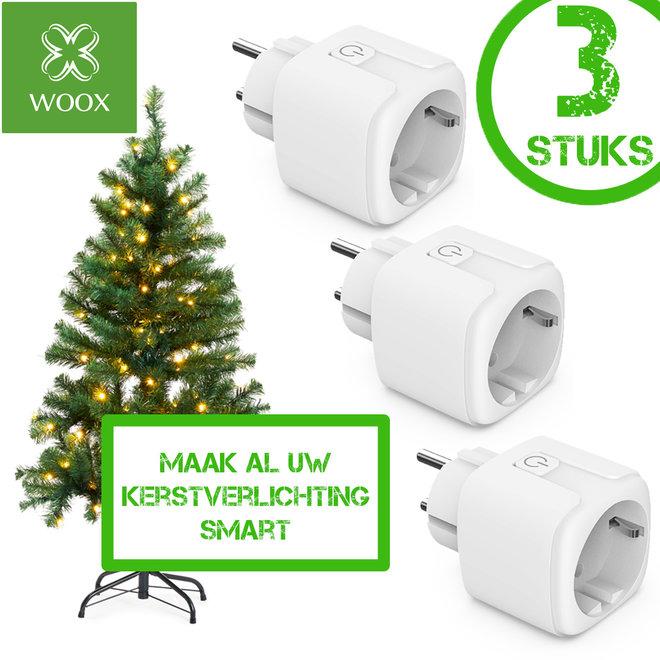 WOOX Smart Plugs (3 stuks)