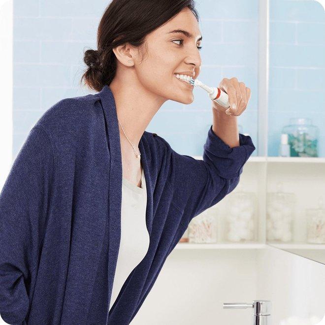 Oral-B Elektrische Tandenborstel - Smart 5 5200W | Realtime poetsfeedback via LED en App | Ultra High-end