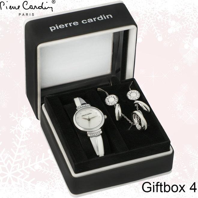 Pierre Cardin sierraden giftbox - Keuze uit 4 verschillende Giftboxes | Prachtig verpakt | Lief of romantisch kerstcadeau!