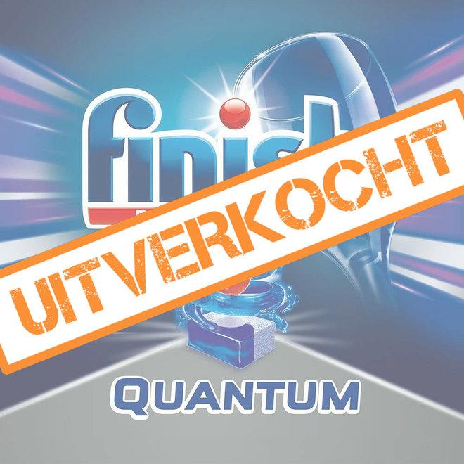 80 afwastabletten Finish Quantum Powerball - Het sterkste afwasmiddel