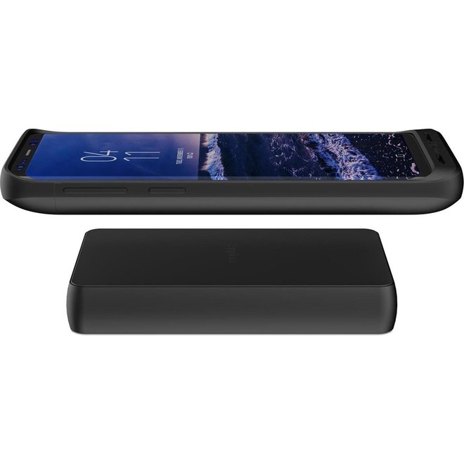 Mophie Charge Stream XL - Draadloos opladen | 10.000 mAh | Black Edition