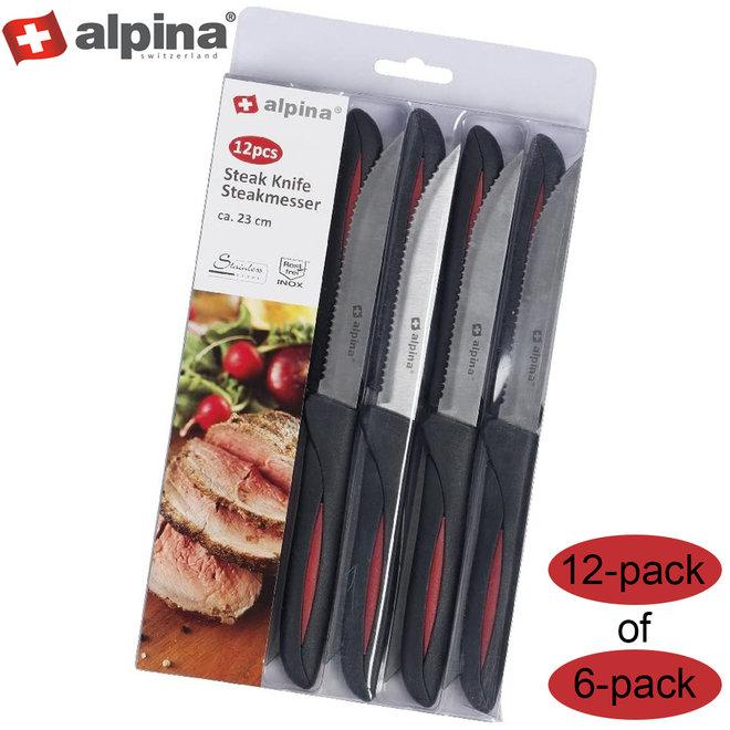 Alpina Steakmessenset - 6 of 12 stuks