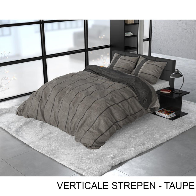 Verticale Strepen - Taupe
