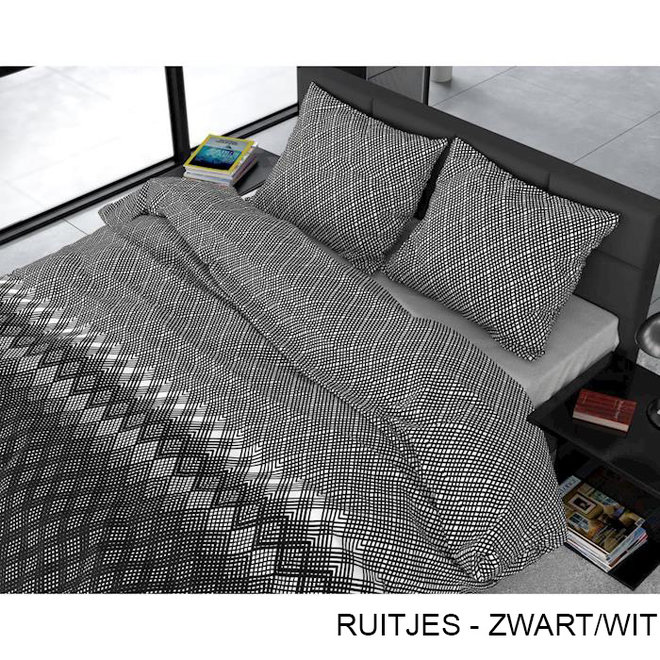 Ruitjes - Zwart/Wit
