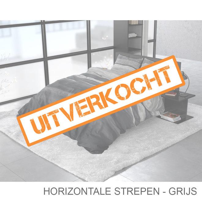 Horizontale Strepen - Grijs