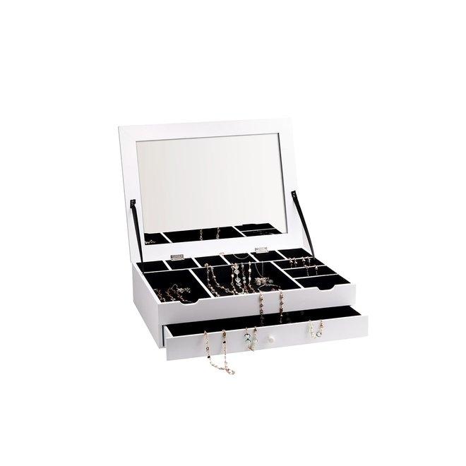 Juwelendoos XL - Strak design | Veel compartimenten