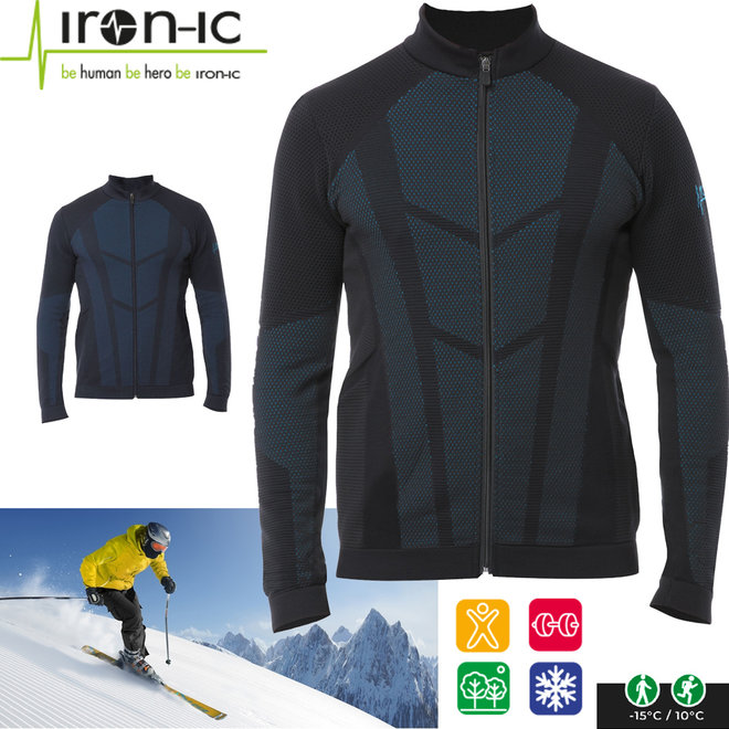 Thermokleding Vest met Rits - Voor temperaturen tussen de -15° en +10°C