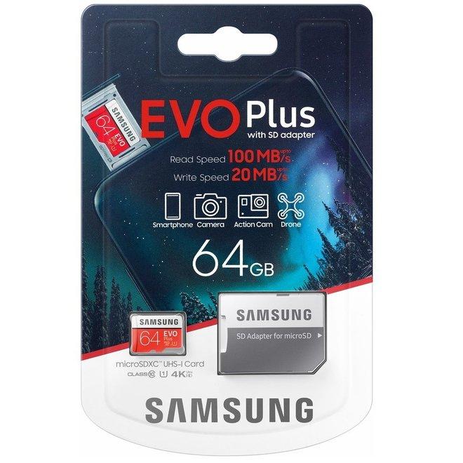 64GB Samsung Micro SDXC Kaart