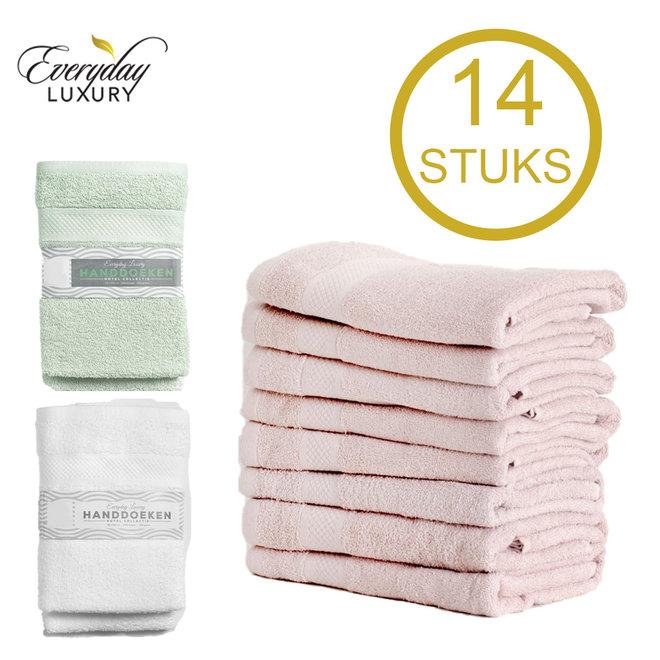14 'Hotel Collectie' Handdoeken
