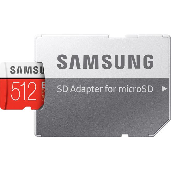 256GB Samsung Micro SDXC Kaart
