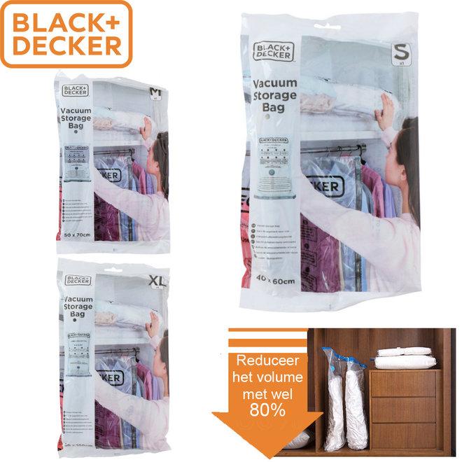 5 BLACK+DECKER Vacuüm Opbergzakken