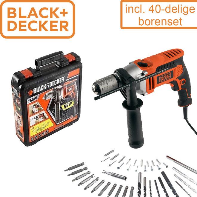 BLACK+DECKER 750W Klopboor
