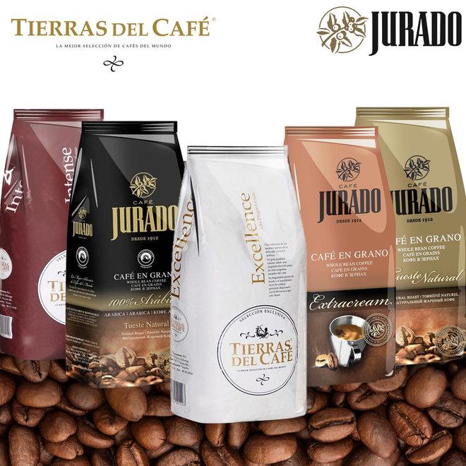 Spaanse Koffiebonen - 1kg per zak | Keuze uit intens tot zacht romig