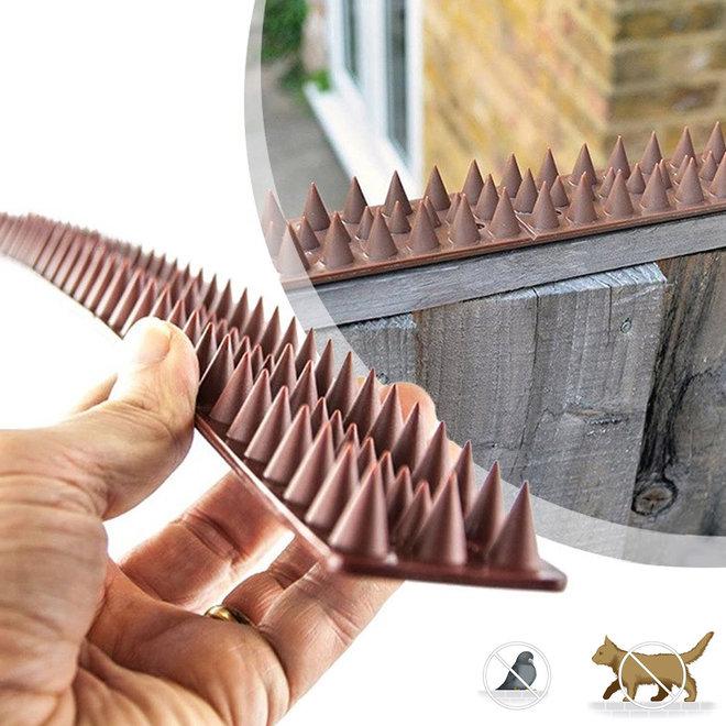 Anti-klim Strips - Handig tegen katten en vogels | 10 x 0,5m strips | Gemakkelijk te bevestigen