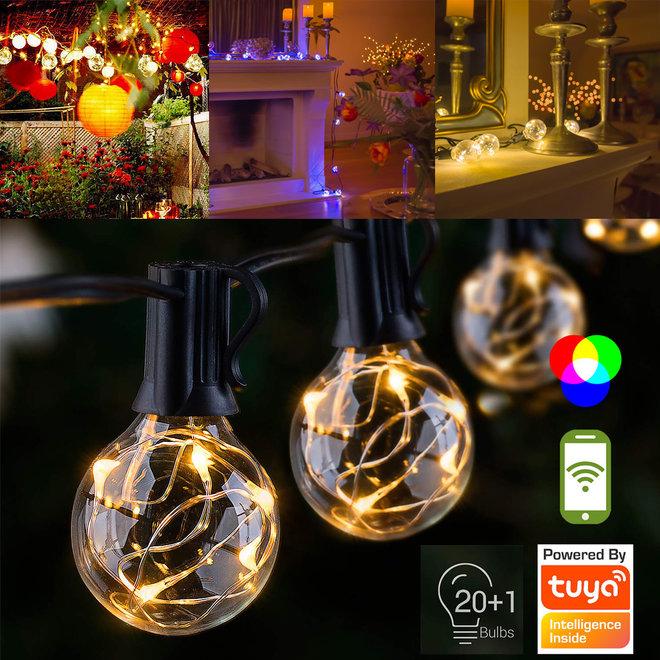 LED Lichtslinger - 8 meter of Smart LED 18 meter | Sfeervolle verlichting voor binnen en buiten!