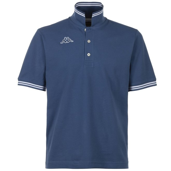 Kappa Poloshirt   Blauw - witte strepen