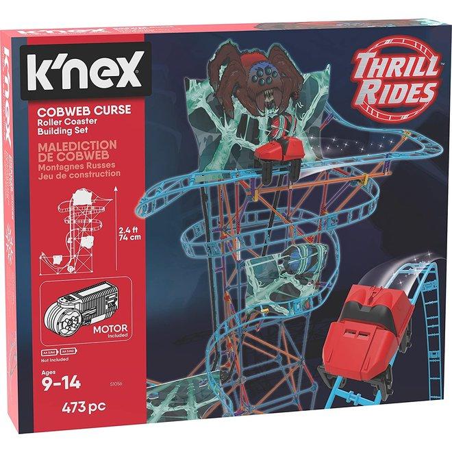 K'NEX Thrill Rides Cobweb Curse Achtbaan - Bouwset