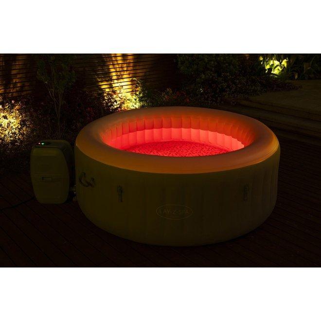 Lay-Z Spa Tahiti Opblaasbare Jacuzzi met LED-verlichting en verwarming