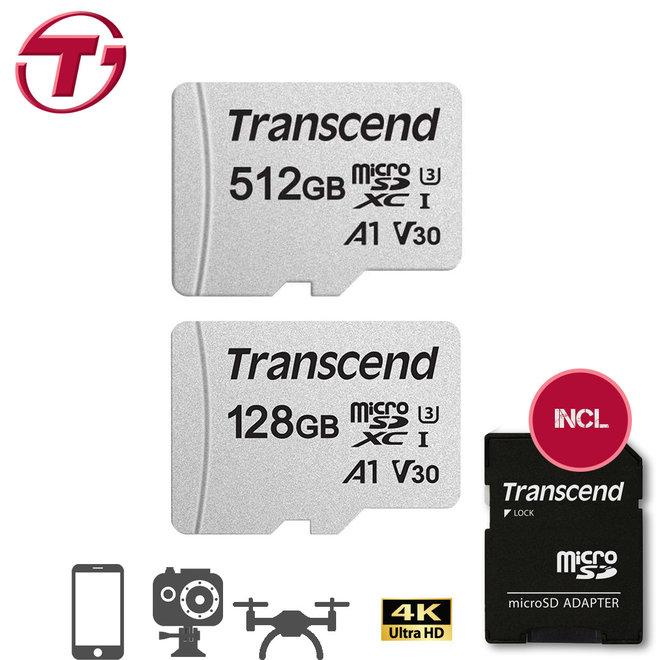 Transcend Micro SD - 128GB of 512GB
