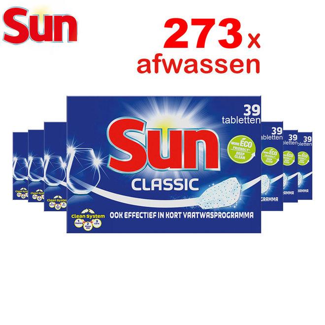Sun Classic afwastabletten 273 stuks