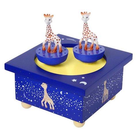 Trousselier muziekdoos Sophie de giraffe Milky Way