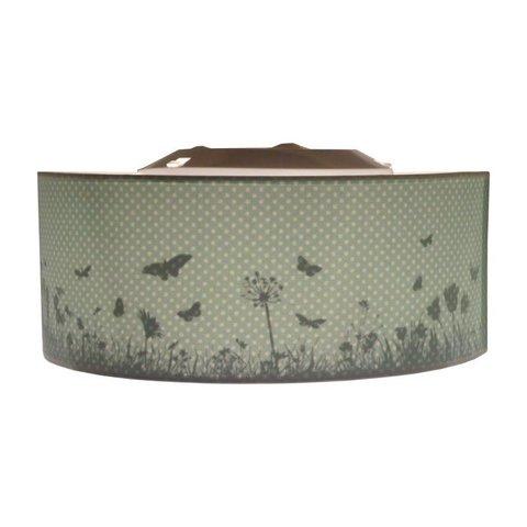 Juul Design plafonniere vlinders mint groen
