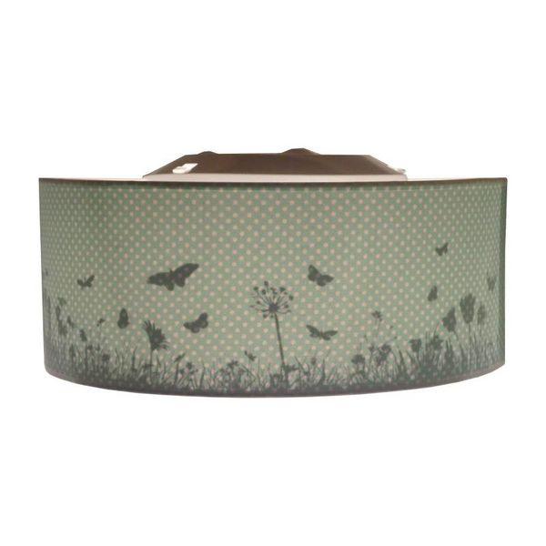 Juul Design Juul Design plafonniere vlinder mint groen