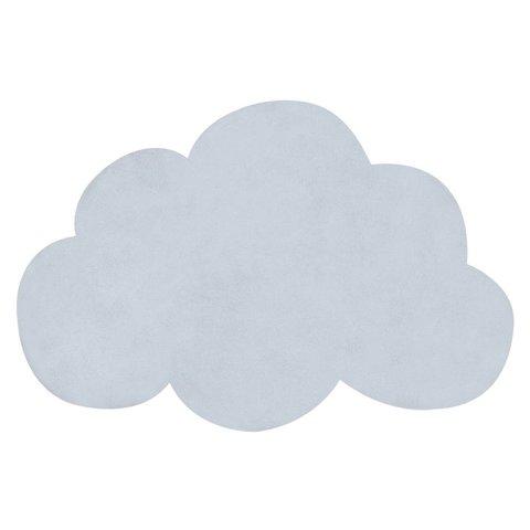 Lilipinso vloerkleed wolkje baby blauw
