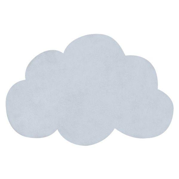 Lilipinso Lilipinso kindervloerkleed wolk baby blauw
