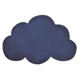 Lilipinso Lilipinso vloerkleed wolkje donkerblauw true navy
