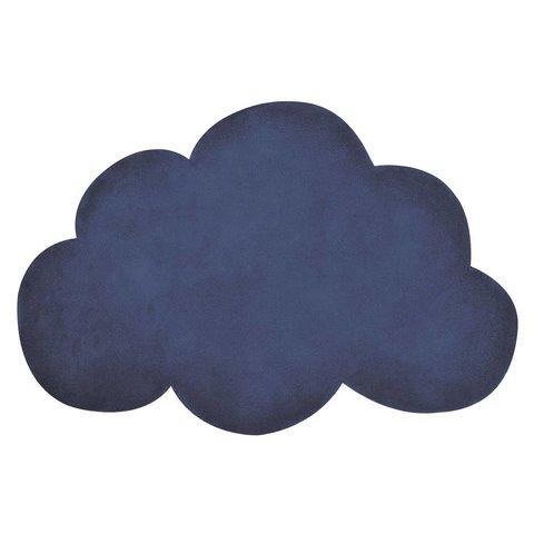 Lilipinso vloerkleed wolkje donkerblauw true navy