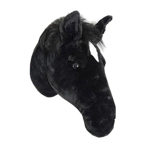 Wild & Soft  beestenkop paard zwart