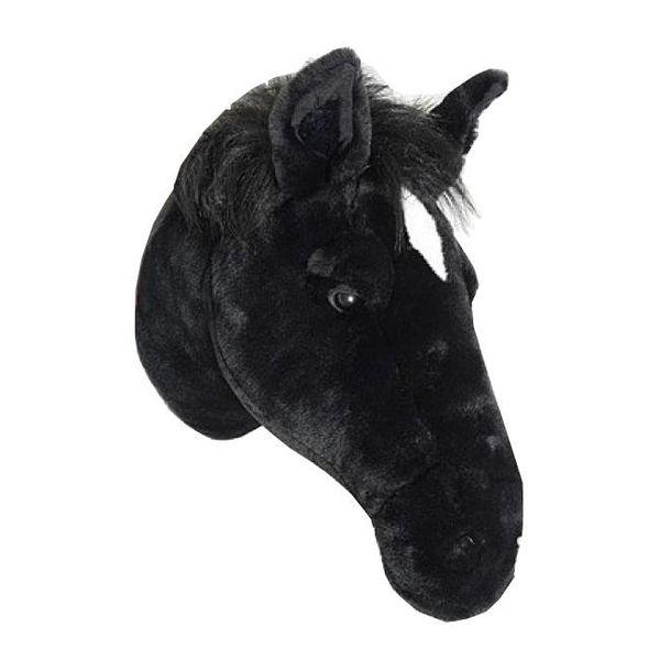 Wild & Soft Wild & Soft dierenkop paard zwart