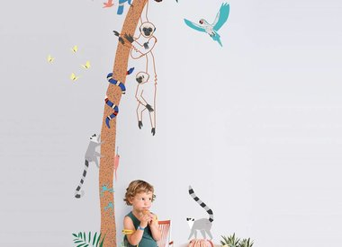 Kinderkamer Tropical Summer