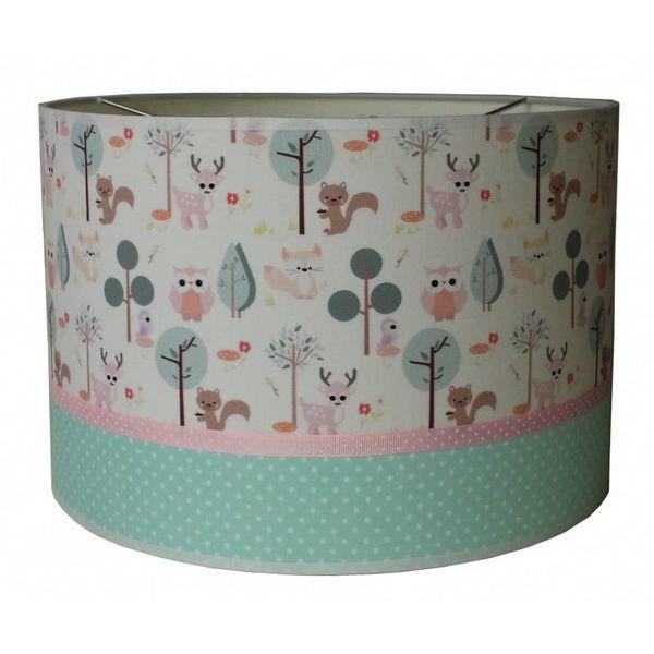 Designed4Kids Designed4Kids kinderlamp forest friends pastel