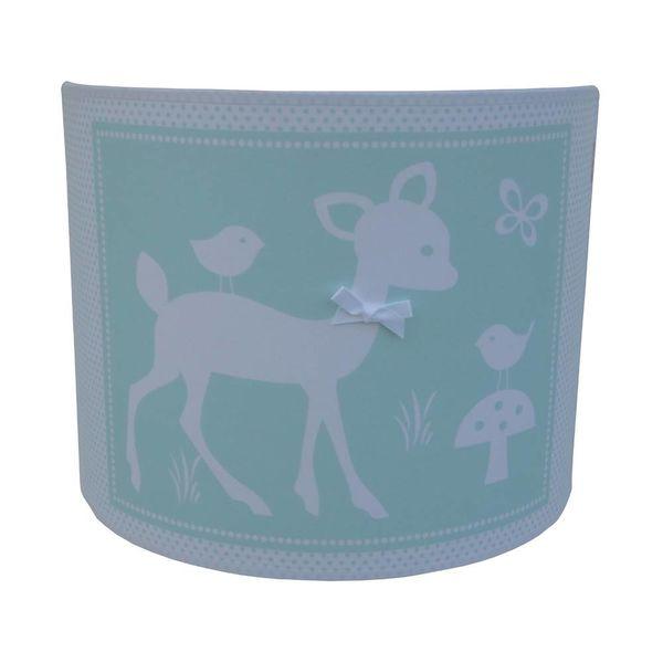 Juul Design Juul Design wandlamp kinderkamer hertje Forest Friends zeeblauw