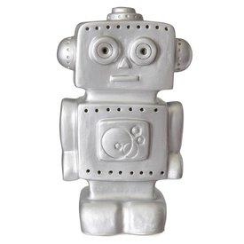 Heico figuurlampen Heico lamp robot zilver
