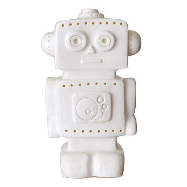 Heico figuurlampen Figuurlamp robot wit
