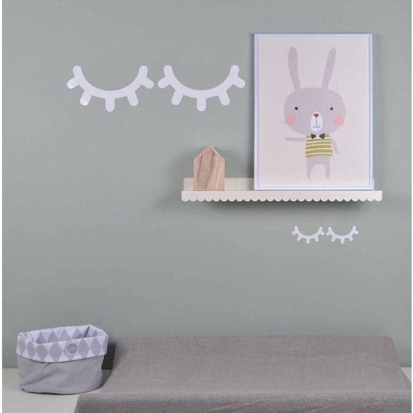 Eina Design Land of kids muursticker Sleepy Eyes wit